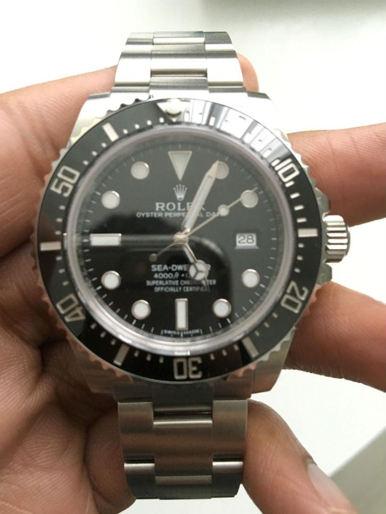 Rolex Sea Dweller 4000 Céramique 116600LN