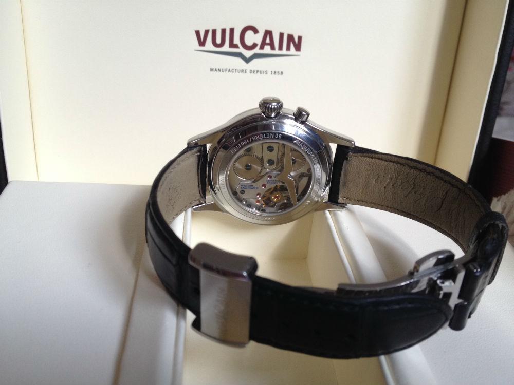Montre VULCAIN Golden Heart Cricket/réveil2400
