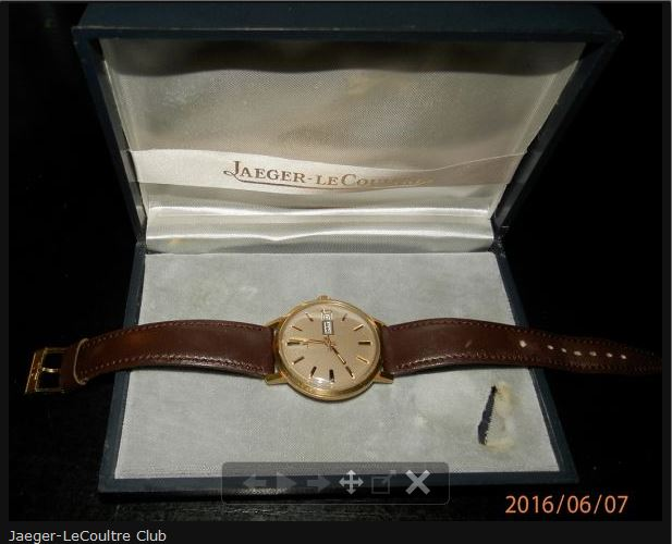 Jaeger-Lecoultre série club en or 18 carats - RARE